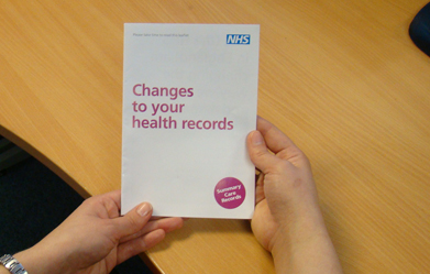 health records home page