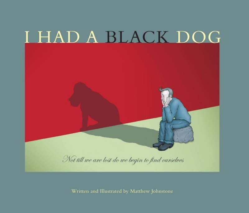 Living With A Black Dog Book
